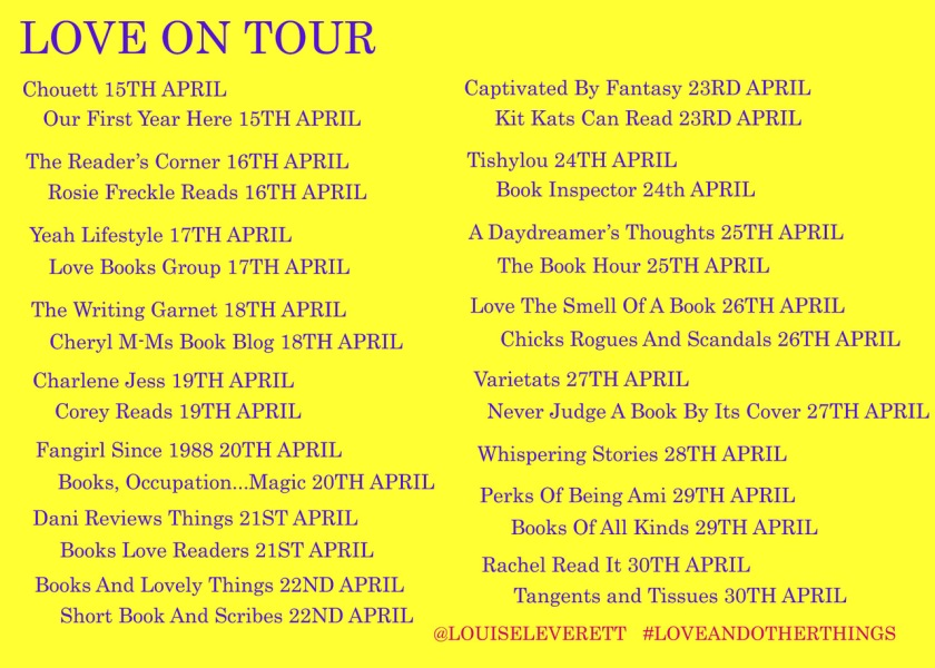 Love And Other Things blog tour cover