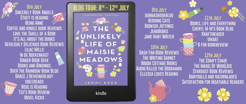 The Unlikely Life of Maisie Meadows Full Tour Banner