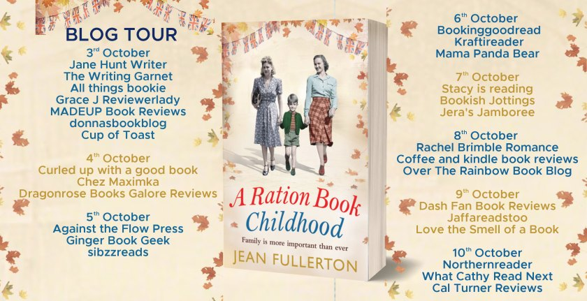 A Ration Book Childhood Full Tour Banner