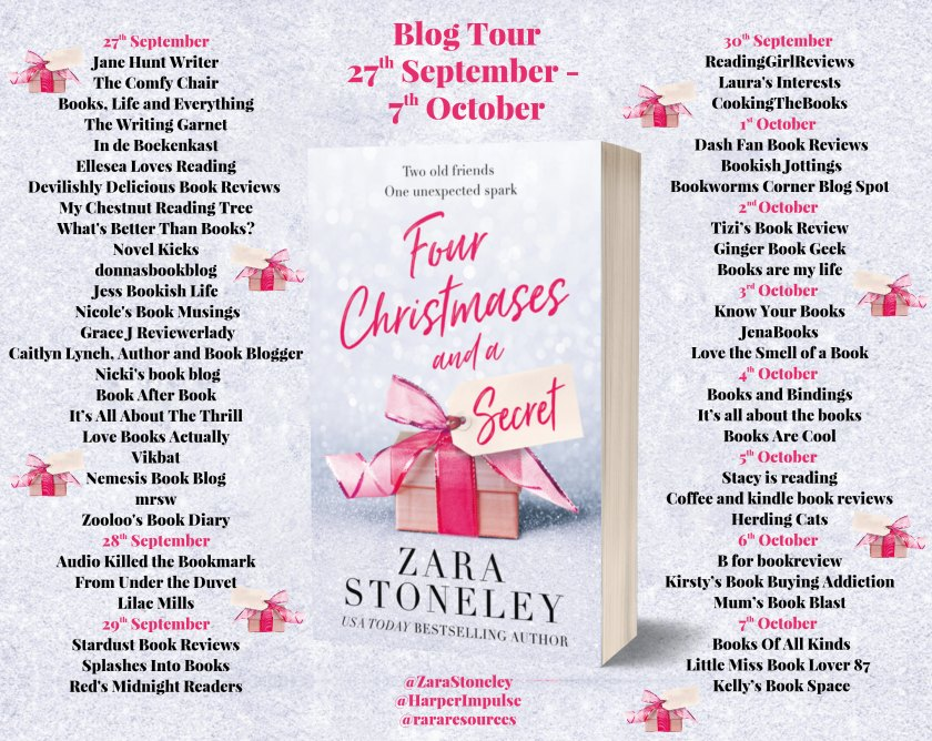 Four Christmases and a Secret Full Tour Banner
