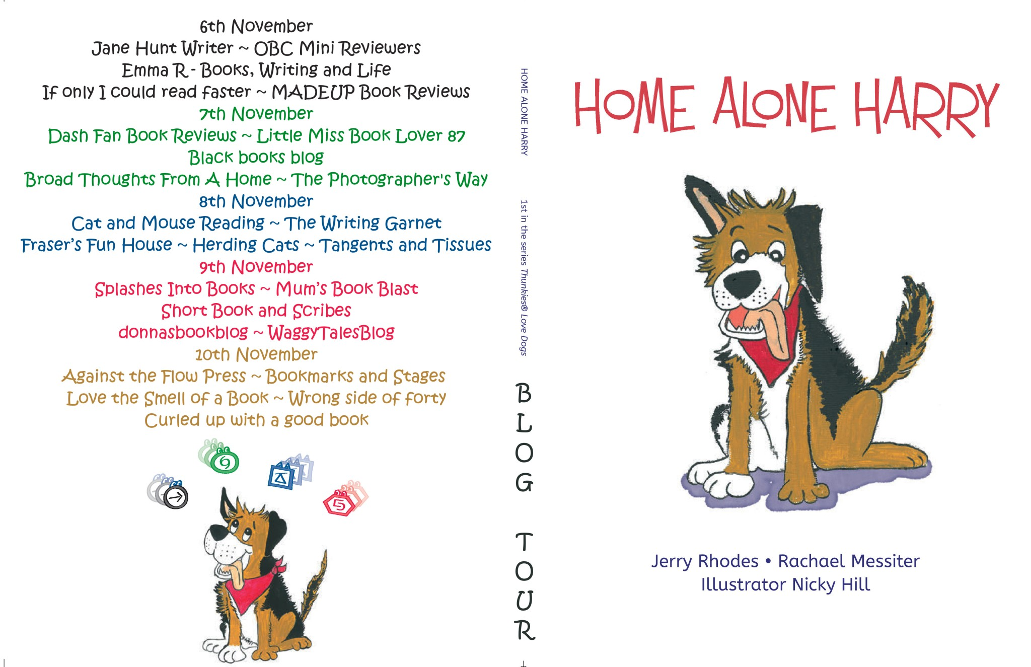 Home Alone Harry Full Tour Banner