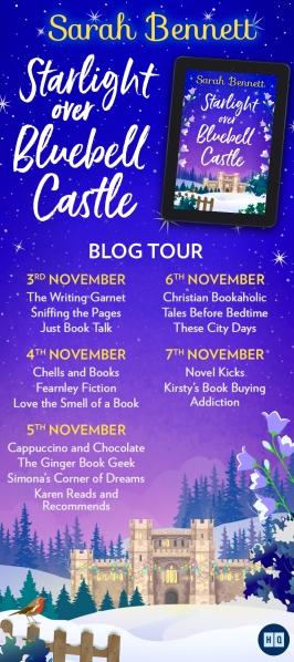Starlight Over Bluebell Castle Blog Tour Banner