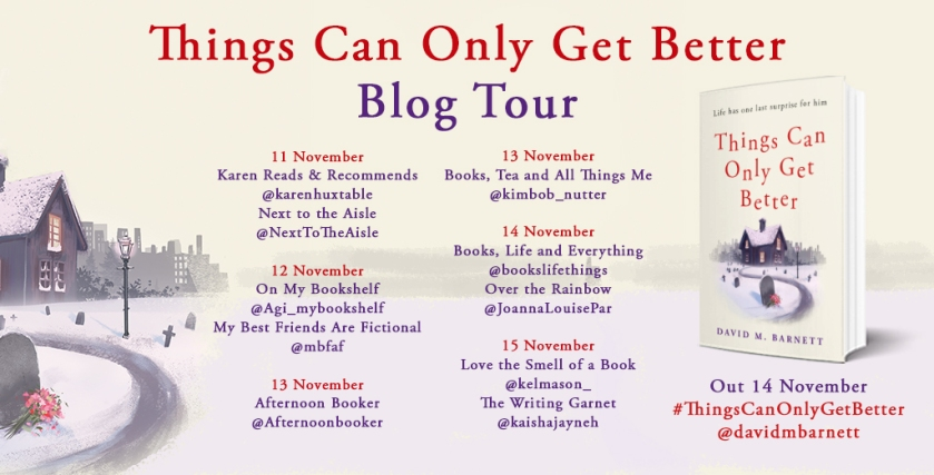 Things Can Only Get Better blog tour