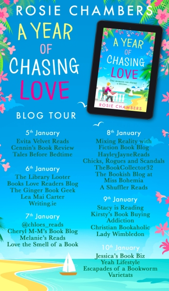 A Year of Chasing Love Blog Tour Banner