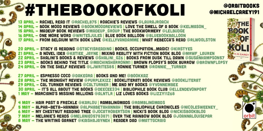Book of Koli blog tour