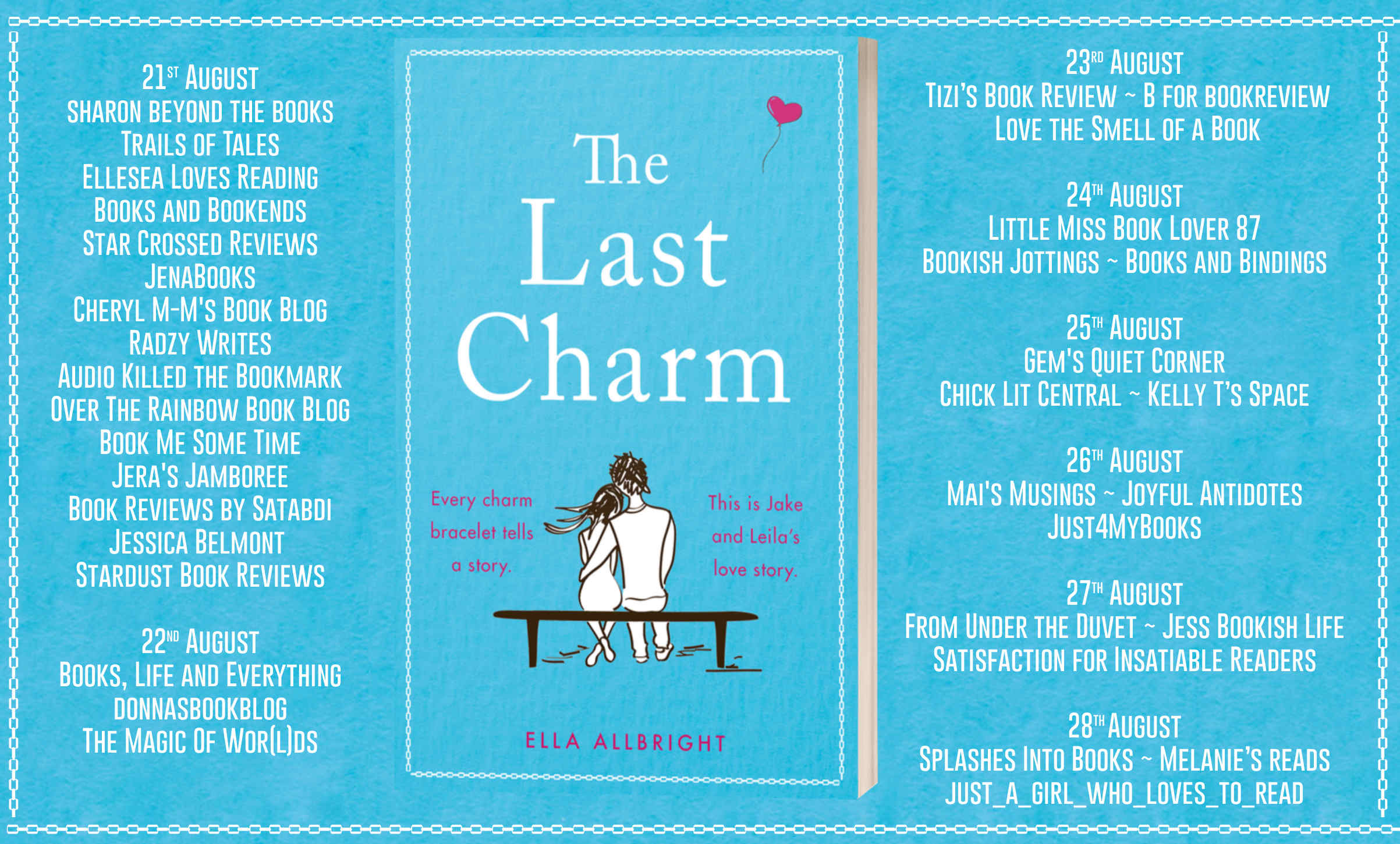 The Last Charm Full Tour Banner